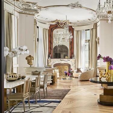 Arte, elementos históricos, piezas de diseño... así es la Suite Real del hotel Four Seasons (la más cara y exclusiva de la capital)