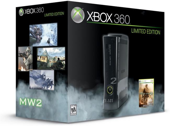 Foto de Xbox 360 de 250GB con pack Modern Warfare 2 (3/6)