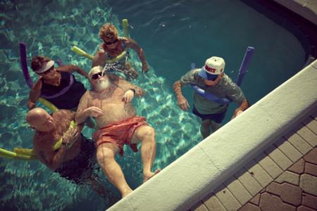 ¿Sabes lo que hace Papa Noel cuando está de vacaciones de verano?