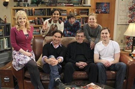 Leonard Nimoy en 'The Big Bang Theory', la imagen de la semana