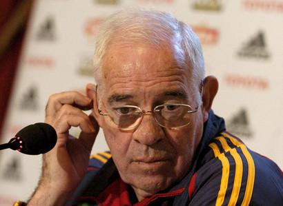 Luis Aragonés no mantiene el interés