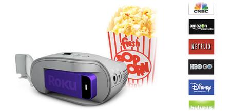 SPR1000, el proyector compacto de 3M con Roku Stick HDMI como complemento