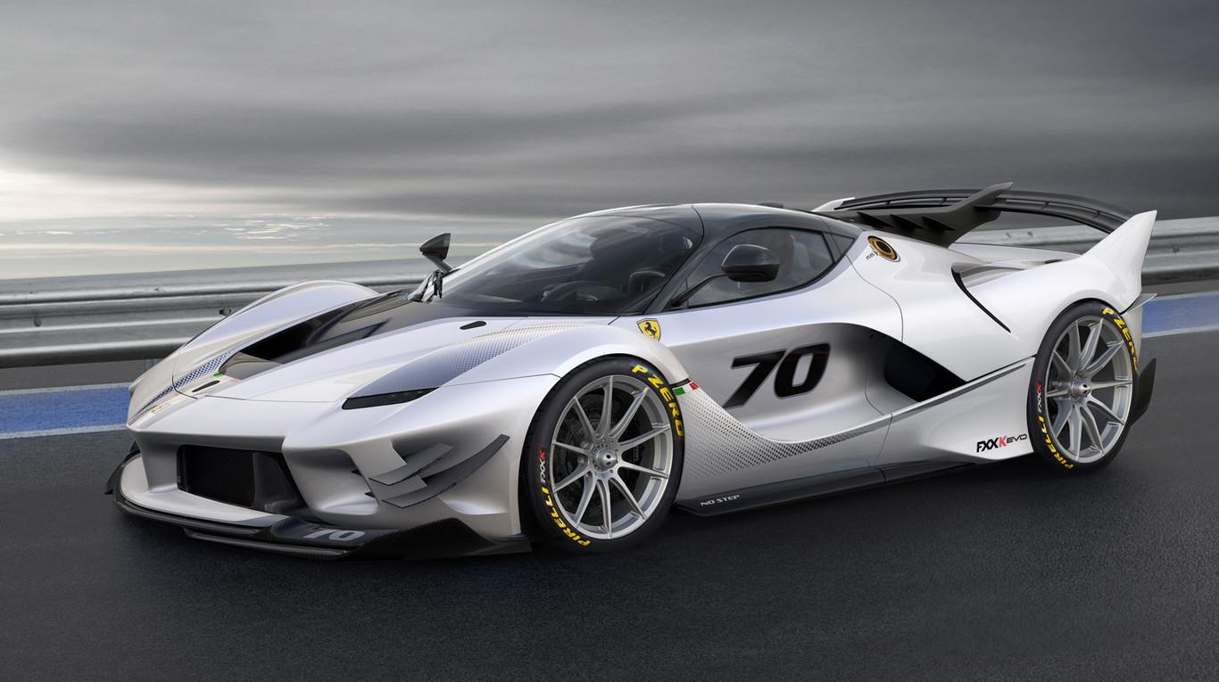 Ferrari Fxx K Evo Asi Es El Ferrari Mas Salvaje Para Circuito Con Aerodinamica Activa Y 1 050 Cv