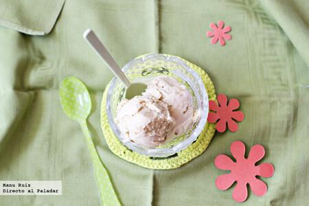 Helado de té verde, receta con Thermomix