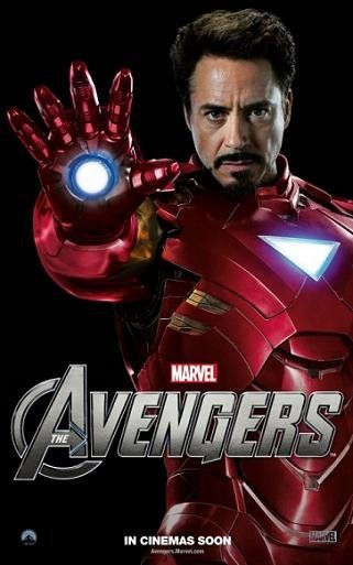 Cartel de Robert Downey Jr. en