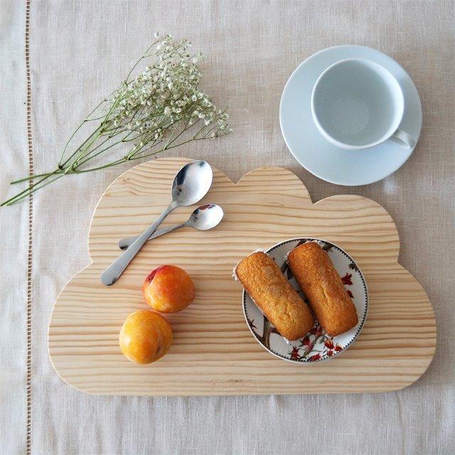 Tabla de madera Mimosa y Estraza