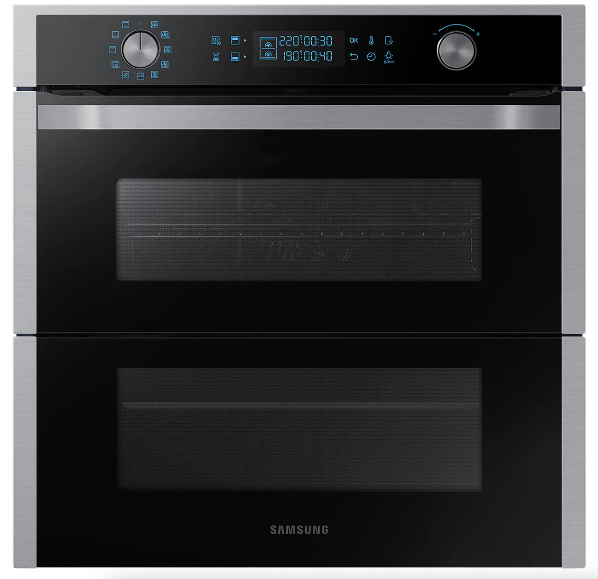 Horno multifunción Samsung Dual Cook Flex WiFi NV75N7677RS/EC pirolítico