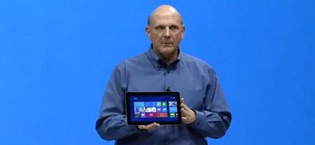 Según Ballmer las ventas de Surface están teniendo un arranque modesto [Actualizado]