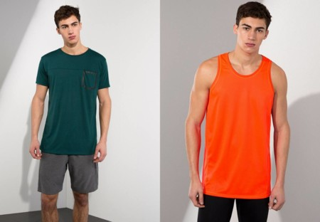 Pull And Bear Gymwear Collection 2016