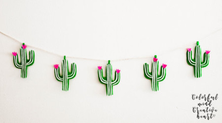 17 ideas para decorar con cactus este otoo
