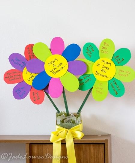 Manualidades Dia Madre Flores Mensajes
