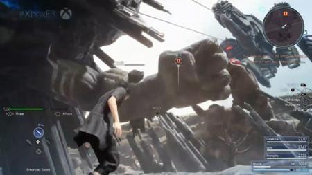 Final Fantasy XV muestra un nuevo e impresionante vídeo de gameplay