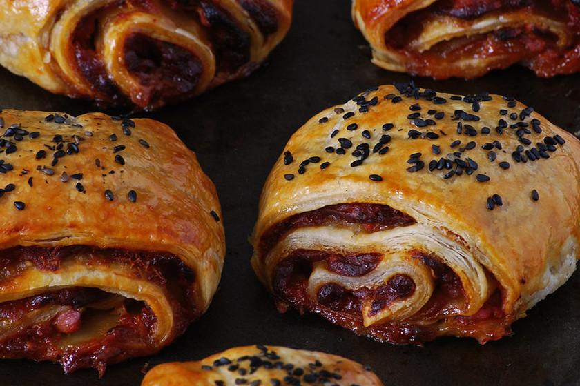 Las 37 mejores recetas de canapés y aperitivos con hojaldre de Directo al Paladar