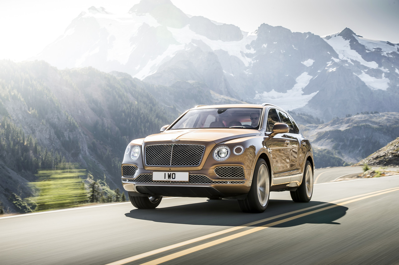 Foto de Bentley Bentayga 2015 (13/27)