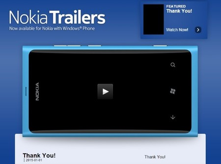 Microsoft cerrará Nokia Trailers y nos sugiere usar Xbox Video en su reemplazo
