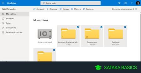 Cómo vaciar OneDrive limpiando tu cuenta desde el PC, el móvil y el navegador