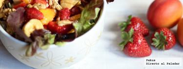 19 recetas originales de ensalada para alejarnos de la monótona lechuga