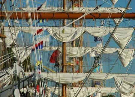 Grandes veleros históricos en Buenos Aires
