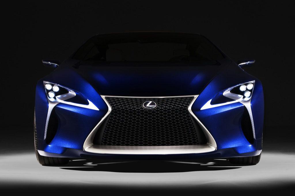 Foto de Lexus LF-LC Blue, 500cv para el deportivo híbrido del futuro (1/24)