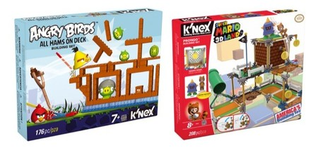 En septiembre del 2013 llegan los juguetes de construcción de Angry Birds y Super Mario Bros
