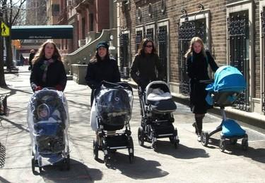 Uso del cochecito para bebés: sólo lo necesario