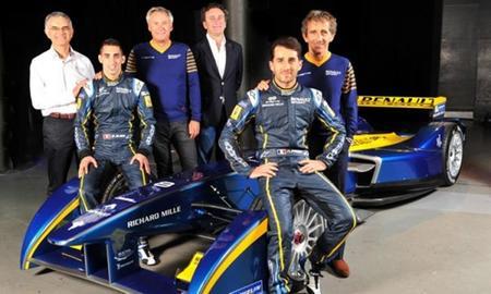 Sébastien Buemi y Nicolas Prost confirmados como pilotos del equipo e.dams