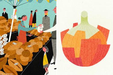 El colorista y alegre estilo de la ilustradora Ryo Takemasa