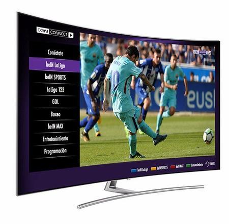 Los usuarios de un smart TV Samsung podrán ver partidos en UHD del Real Madrid y FC Barcelona gracias a beIN Connect