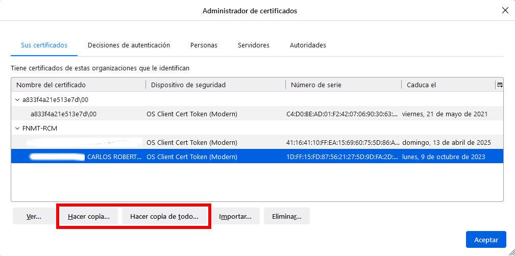 Cómo crear una copia de seguridad de tu certificado digital y por qué te conviene