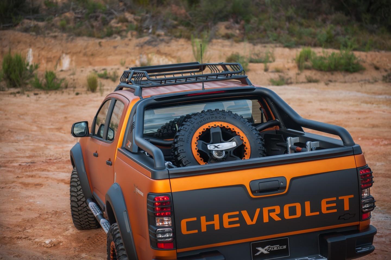 Chevrolet Colorado Xtreme Concept lista para cualquier ...
