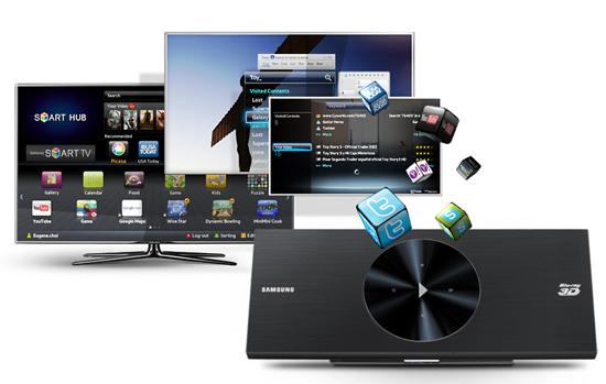 Smart tV Samsung bluray