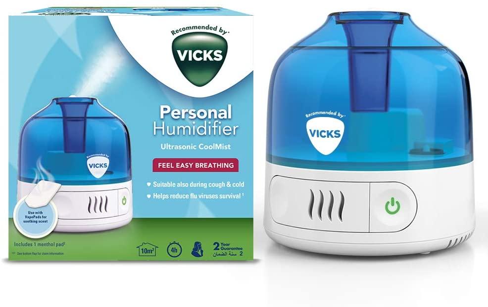 Vicks VUL505 - Humidificador personal Cool Mist