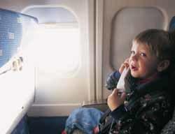 Mis consejos para viajar en avión con niños pequeños