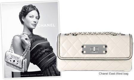 El East-West Bag de Chanel y Christy Turlington