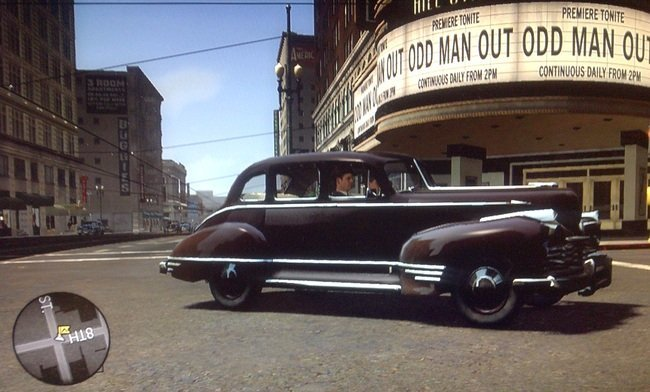 Cine RKO en L.A. Noire