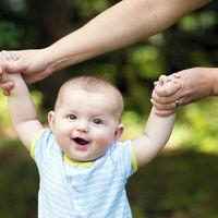 Un padre registra en gráficos las primeras palabras de su bebé