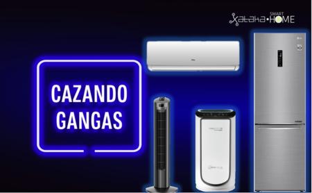 Grandes descuentos en aire acondicionado, ventiladores, evaporadores, electrodomésticos, teles y más: Cazando Gangas