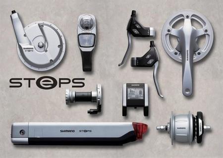 Shimano STePS, componentes para convertir bicicletas convencionales a eléctricas