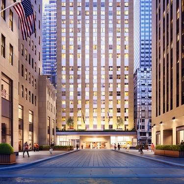 Alojarse en el Rockefeller Center de Nueva York ya es posible