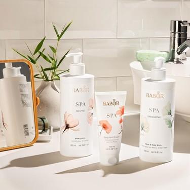 Probamos la edición limitada Babor Spa con gel, crema corporal y de manos que son todo un chute de hidratación con el packaging más elegante