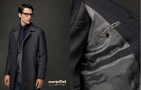 abrigo manga ranglan cortefiel