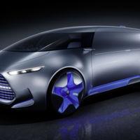 Este prototipo de Mercedes tiene hasta proyector de hologramas