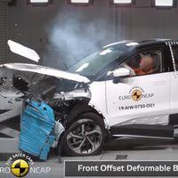 El SUV eléctrico chino Aiways U5 se la pega en Euro NCAP con sólo tres estrellas