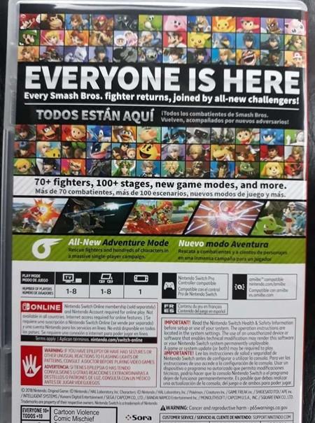 Super Smash Bros Ultimate Leaked Copy 1