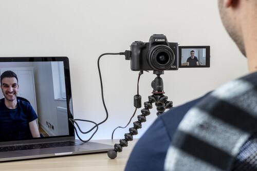 Estas son todas las cámaras fotográficas que se pueden usar como webcam en videollamadas con las apps de las marcas (actualizado)