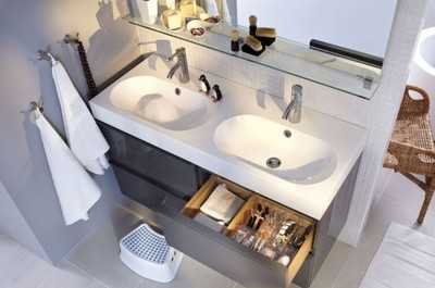 A cada baño su lavabo