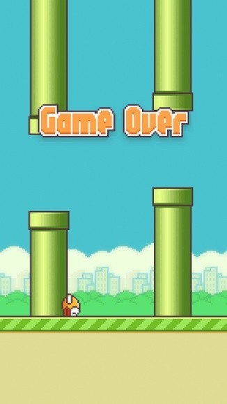 Flappy Game Over