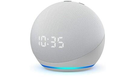 Amazon Echo Dot Con Reloj De Cuarta GeneracionAmazon Echo Dot (4.ª generación)