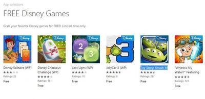 6 juegos de Disney para Windows Phone están gratis por tiempo limitado