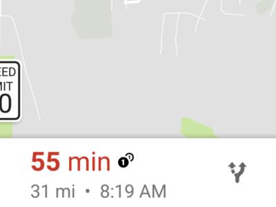 Google Maps para Android y Android Auto comienza a mostrar los límites de velocidad